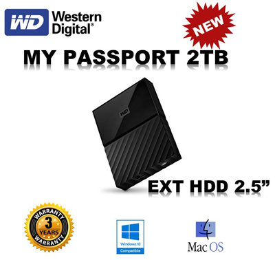 Qoo10 - WD Ext HDD 2TB : Computer & Game