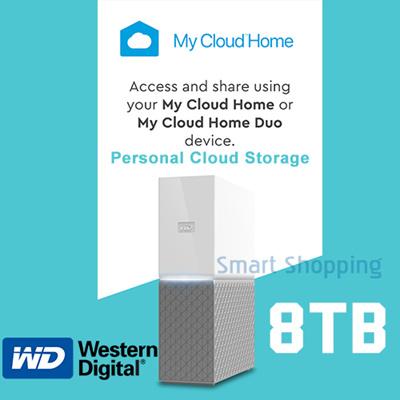 WDWD MyCloud Home 8TB Personal My Cloud Backup Storage Gigabit Lan USB 3 0  NAS Warranty by WD SG