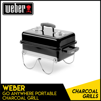 [WEBER] Go Anywhere Portable Charcoal Grill