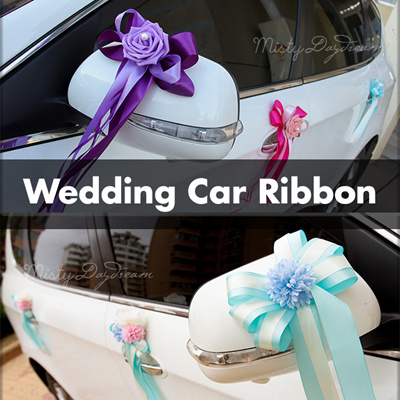 Wedding Car Ribbon Decoration WEDDING DECORATIONS PARTY DECORATION SUPPLIES