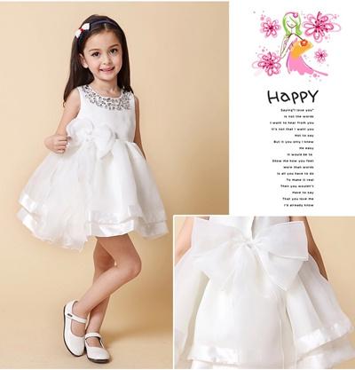671a3643f ☆Wedding Gown Bridesmaid Flower Girl 花童 European Design Baby Girl Toddler  Dress Gown Princess