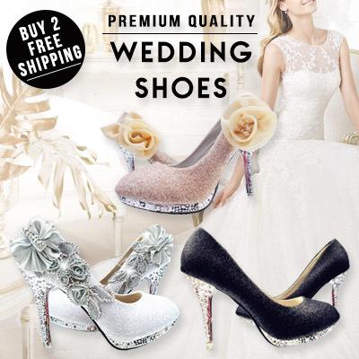03d6dfb0b5 WEDDING SHOES BUY 2 FREE SHIPPING women shoes wedding heels platform wedges