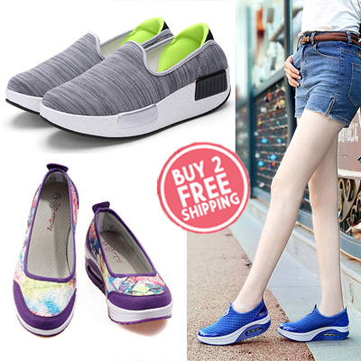 Qoo10 - Wedge Shoes★Slimming shoes★Sport Shoes★loafers ...