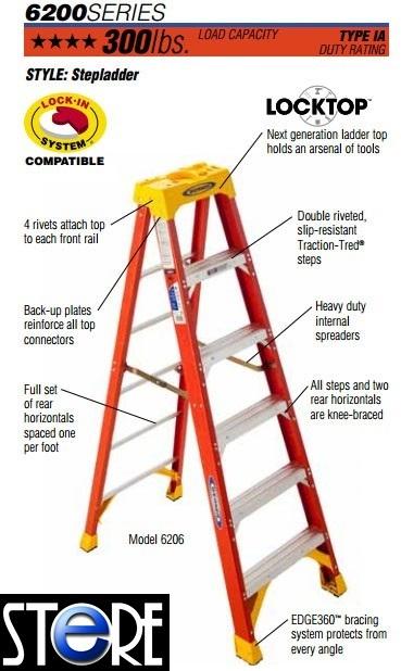 Qoo10 warner ladder 6200 tools gardening for Gardening tools singapore