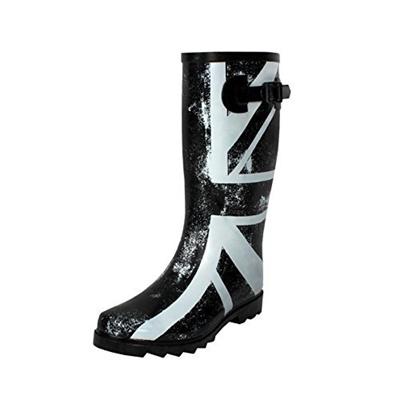 36e7d861af662 Qoo10 - West Blvd Women s Mid Calf Waterproof Rainboots   Kids Fashion