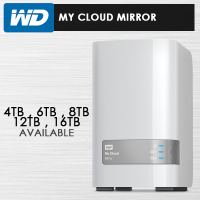 Qoo10 - WD My Cloud Mirror : Computer & Game