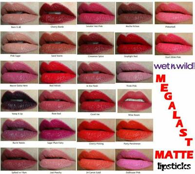 Qoo10 Wet N Wild Megalast Lip Color Matte Lipstick Ready Stocks