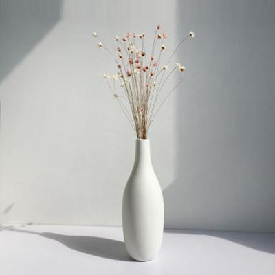 Qoo10 White Firing Porcelain Vase Decoration European Style Living
