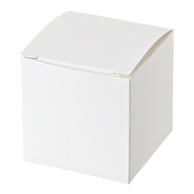 White Gift Boxes 3x3x3 Inches 50 Count White Cardboard Boxes With Lids For Gifts Crafting Cupcake P