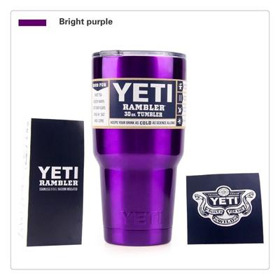 Whitin 24 Hours Shipping Rambler Tumbler 30 oz YETI Cups Cars Beer Mug 17  Colors Skoda Yeti Large Ca