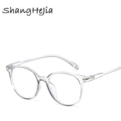 65da55b96ab wholesale 2018 Fashion Women Glasses Frame Men Eyeglasses Frame Vintage  Round Clear Lens Glasses Op