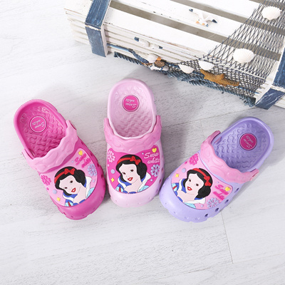 41c495c51f93 wholesale children s sandal slippers Snow White non-slip garden hole shoes  summer beach children