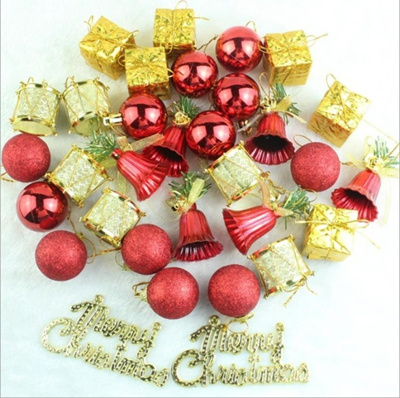wholesale christmas tree hanging baubles fruit ball party decoration ornament christmas tree decor c