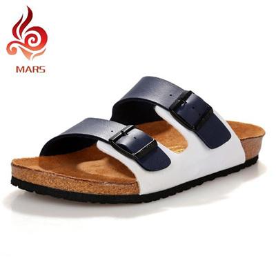 a8806f66e128 Qoo10 - Wholesale-Fashion Mens Summer Leather Flip Flops Slides Shoes Men  Sand...   Bags Shoes   Acc..
