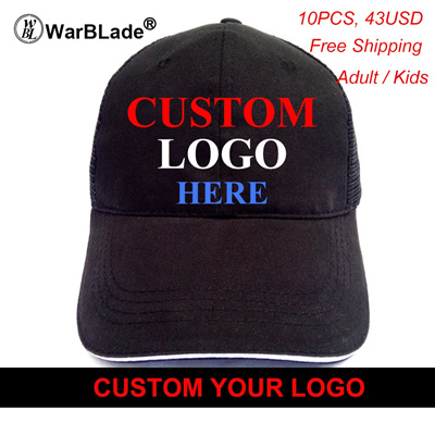 5ccb8cca479 Wholesale High Quality Custom Logo Hats Golf Baseball Cap Snapback Outdoor  Casual Solid Boys Girls H
