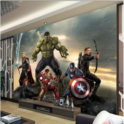 Wholesale-Hulk 3d wallpaper murals 3d room paint background wallpaper paper  decoration wall
