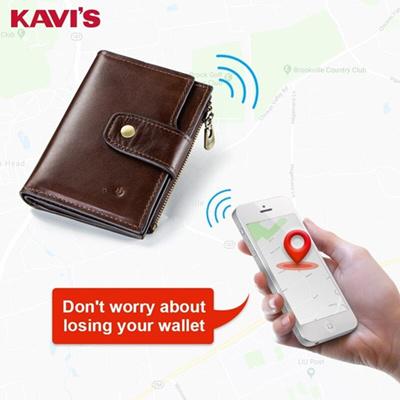 Mens RFID BLOCKING Premium Quality Real Leather Bifold Wallet Zip Pocket 840-BLK