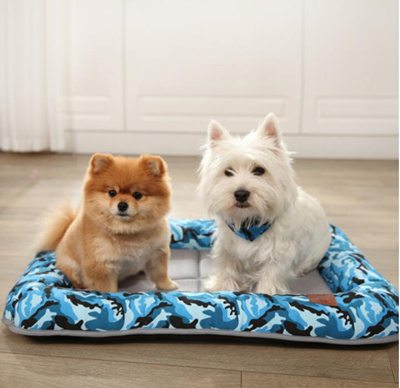 Wholesale Pet Beds Cool Dog Blanket Pet Cat House Mat Dogs Cooling Pad  Summer Breathable Dog Bed