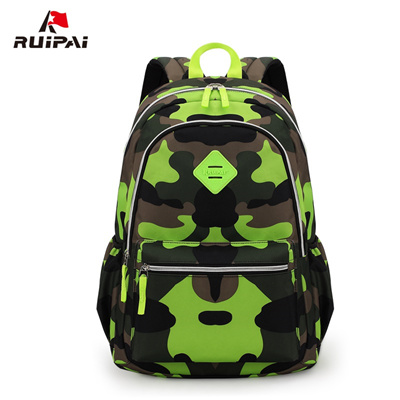 40e0bfef6f wholesale RUIPAI Boy Kids Backpack Polyester Camouflage Orthopedic School  Backpack Schoolbag For Pup