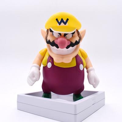 Super Mario Bros Wario Action Figure Toy Anime