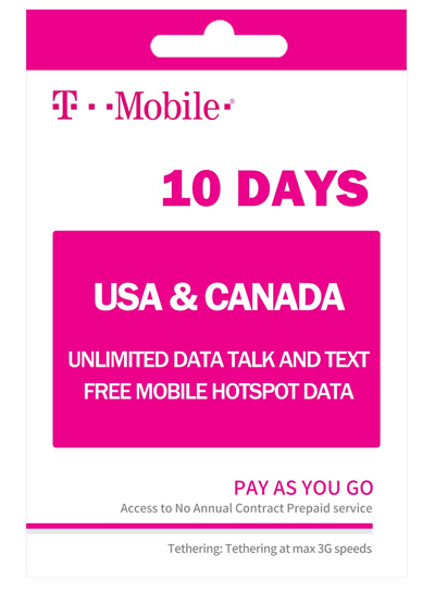 Travel Sim Card For Usa And Canada