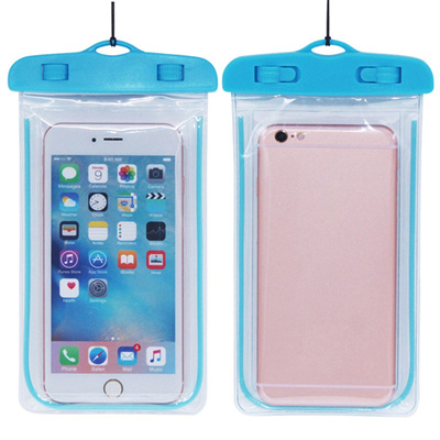 wholesale Unique Phone Waterproof Bag With Necklace Strap Dry Pouch Cases  Cover for Swimming Underwa