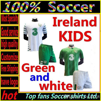 4759dacdc Qoo10 - Whosales Euro Cup Kids Soccer Jerseys 2016 Youth Jerseys Republic  of I...   Sports Equipment