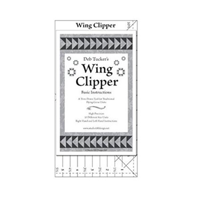 Wing Clipper quilting tool, trim down tool for Flying Geese Units