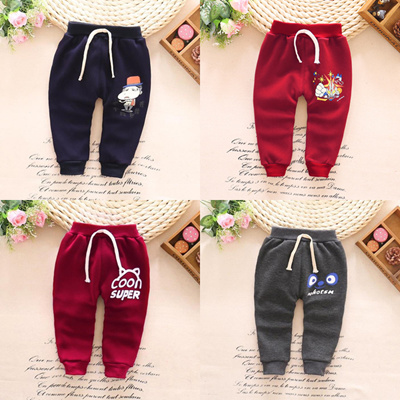 a41c63c27942 Qoo10 - Winter baby plus sweat pants 0-1-2-3 baby thick warm pants ...