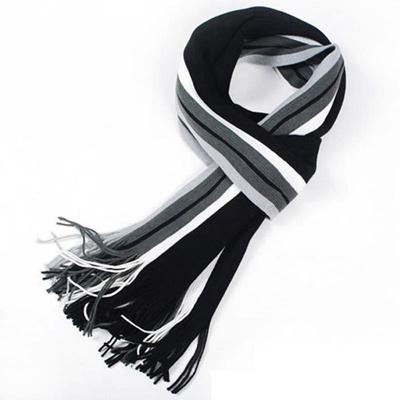 4eccd7e48 Qoo10 - winter design striped scarf men shawls scarves, foulard fall  fashion d... : Fashion Accessor.