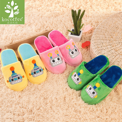50348f532cc Qoo10 - Winter kids slippers boys girls slippers children warm soft sole  boys ...   Shoes