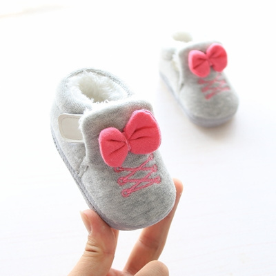 626198ad8 Qoo10 - Winter new baby shoes 1-year-old baby girl warm shoes plush comfort  to...   Kids Fashion