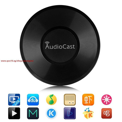 Wireless AudioCast M5 Airplay DLNA Music Receiver iOS & Android Airmusic  WIFI HiFi Audio Speaker