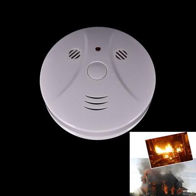 qoo10 wireless smoke detector fire alarm sensor photoelectric white home sec furniture. Black Bedroom Furniture Sets. Home Design Ideas