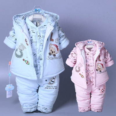 6198ad623 Qoo10 - With 0-1-2 year old baby boy winter clothes for fall winter ...