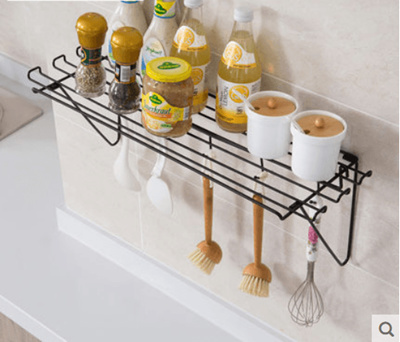 With Hook Wall Hanging Rack Kitchen Supplies Iron Spatula Racks Spice Rack Finishing Rack Storage Ra