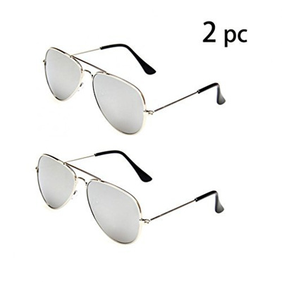 0839f9fb29 Qoo10 - (WODISON) WODISON Classic Kids Aviator Sunglasses Bulk Reflective  Meta...   Kids Fashion
