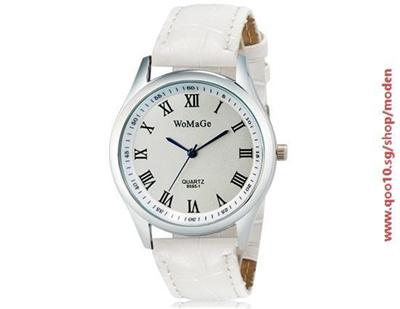 Qoo10 - WoMaGe 9595-1 Womens Analog Quartz Wrist Watch with Roman Numerals  Fa...   Watch   Jewelry b9cb391e50