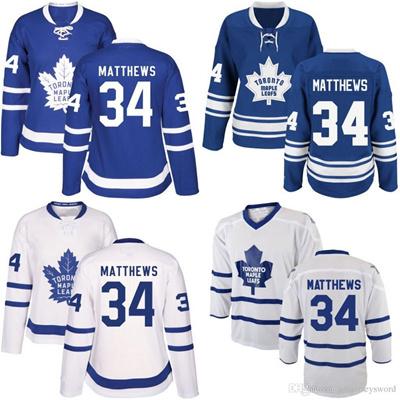 Qoo10 - Women  s Toronto Maple Leafs Jersey  34 Auston Matthews New  Season...   Sports Equipment a84c46ab55