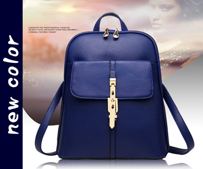 Qoo10 - Women s 2 Way Backpack (Navy)   Bag   Shoes   Accessories 161f21cf249f3