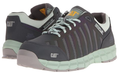Women Authentic Caterpillar Safety Shoe Boots Composite Toe Steel Toe F 2413 11