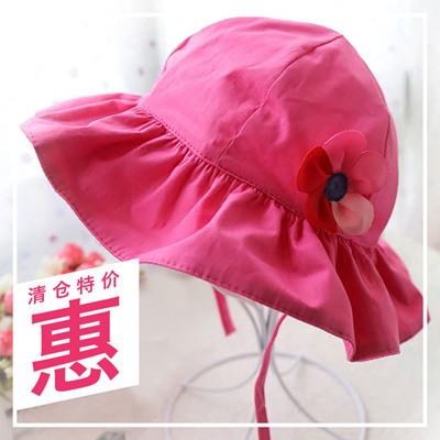Qoo10 - Women bucket Hat baby Hat baby Sun hats for children Princess cute  Kor...   Kids Fashion e14aca36f