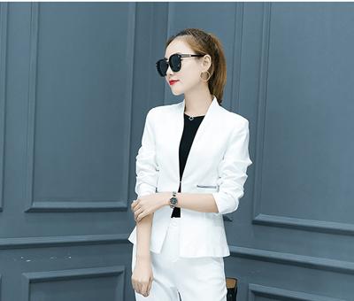 Qoo10 Women Clothes Fall Winter Suit Large Size Fashion Suit Color