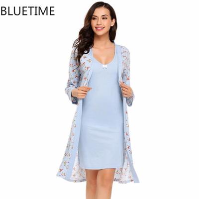 3550ea1335 Qoo10 - Women Floral Print Robe Female Warm Bathrobe Nightwear Sleepwear  Plus ...   Underwear   Sock.