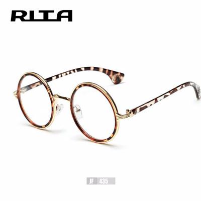 Qoo10 - Women Harry Potter Glasses Frame Plain Big Round Metal ...
