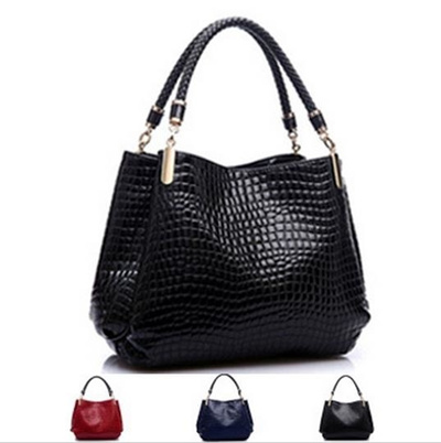 Women Leather Crocodile Bag Las Designer Handbags High Quality Sac A Main Alligator Organizer Bol