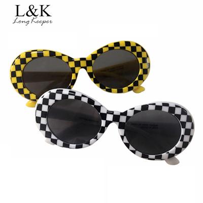Qoo10 - Women Men NIRVANA Kurt Cobain Sunglasses Lattice Oval Sun ...