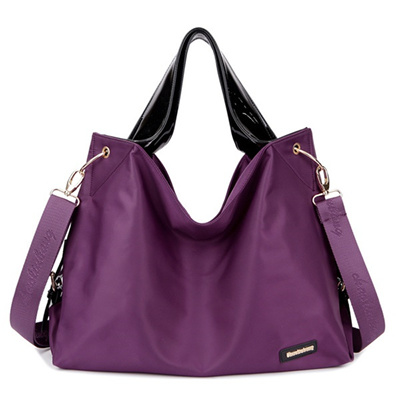 Women Nylon Waterproof Tote Bags Casual Shoulder Classic Capacity Ping
