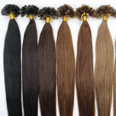 Qoo10 - Women s 100s Pre Bonded Nail U Tip Keratin Fusion Real Human Hair  Exte...   Cosmetics 39729e5039
