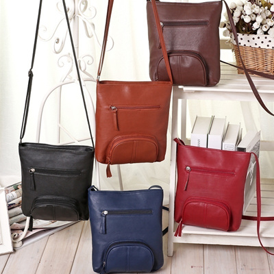 4178f5f4d249 Qoo10 - Women s Lady Leather Satchel Shoulder Messenger Bag Cross Body  Handbag   Bag   Wallet